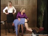 English femdom at the work place