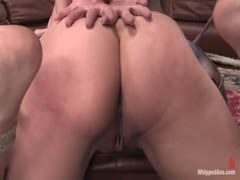 Straight Girl gets her butthole chasten by lesbian room mate