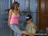 Sexy Strip Search Fingering Included