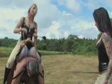 Princess Uses Hubby For Riding with Friend