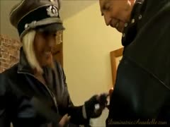 Deviant Female Makes Her Scared Sissy Tolerate Femdom