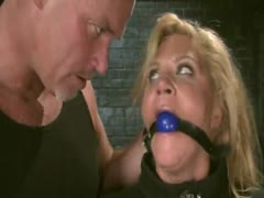 Ginger Lynn in real bondage gettting fucked!
