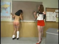 Older teacher turns beautiful asian student into a willing slave