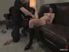 Amateur Casting Couch 23: Daniela is a Dominant Beauty Captured