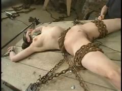 Mallory Knots proves herself through contorting bondage.