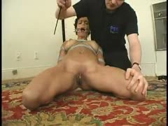 New to BDSM, this cute stripper loves it.