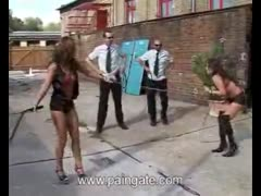 2 slave bitches whip fighting