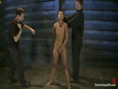 Skin Diamond vacuum boobs Asian breast bondage
