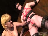 SM bondage girls get down right freaky