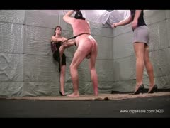 Cruel amazon girls severe whipping