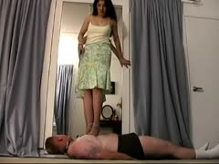 Pity slave punished in trampling