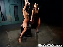 Extreme lesbian domination in BDSM