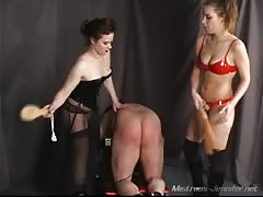 Slave's ass is completely violated