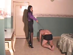 Exclusive femdom whipping