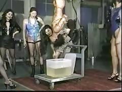Helpless slave badly tortured