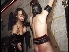 Disciplining slaves through BDSM