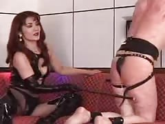 Brutal Asian mistress extreme whipping punishment