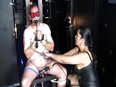 Mistress Tatjana is cruel to her slave