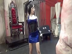 Merciless whipping from brutal Asian mistress