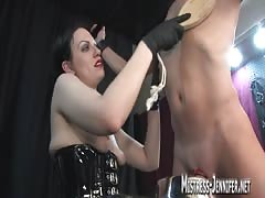 BDSM kinky scene from a filthy mistress