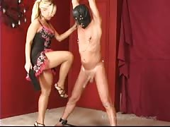 BDSM games from a blonde dominatrix