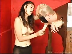 Naughty Mistress Jasmine milking session