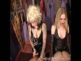 Kinky girls having fun with slaves