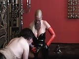 Dirty slave asshole drilled