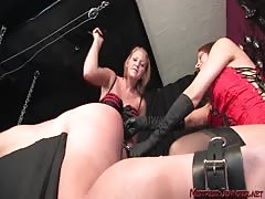 Intense BDSM pegging