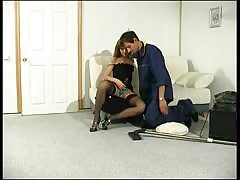 Pegging the male cleaner