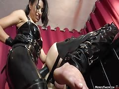 Mistress Tangent rape slaves ass
