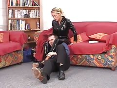 Latex smothering mistress